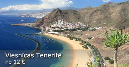 Tenerife - labākās viesnīcu cenas