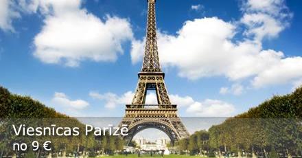Parīze - labākās viesnīcu cenas